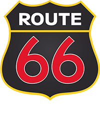 Route 66 Mobile Retina Logo